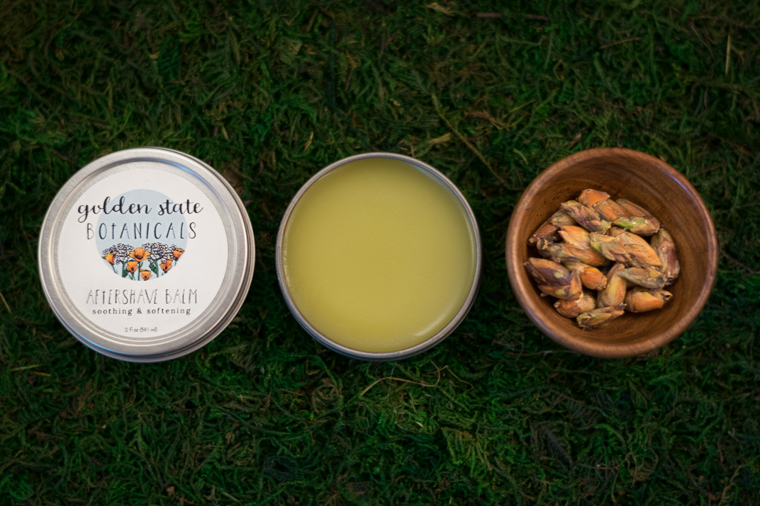 All-natural aftershave balm | Golden State Botanicals